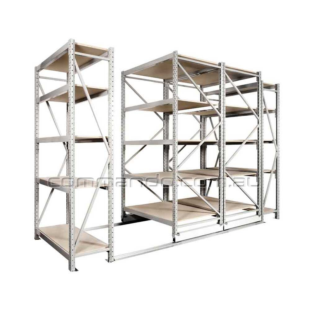 Ezi Glide 174 Longspan Mobile Shelving Commando Storage