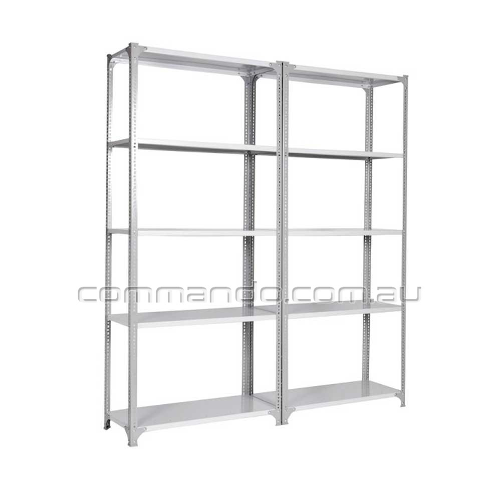 Slotted Angle Shelving Shelving Commando Storage Systems