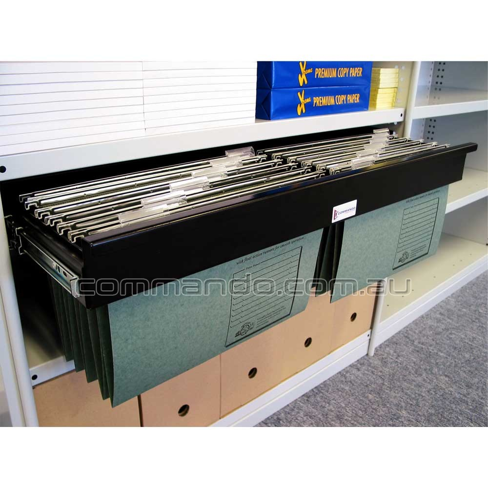 Pull Out Filing Frame Accessories Commando Storage Systems