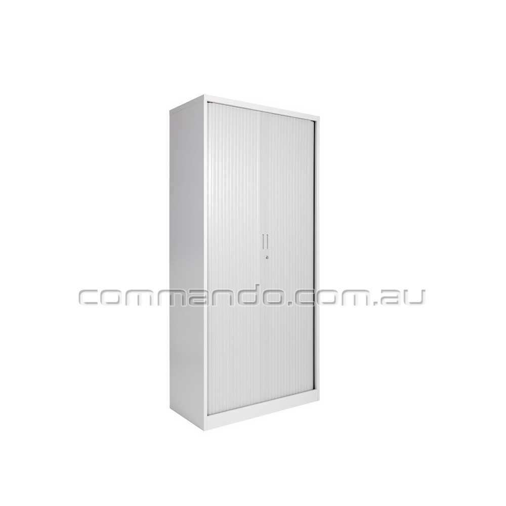 Tambour Sliding Door Cabinets Australia Commando Storage