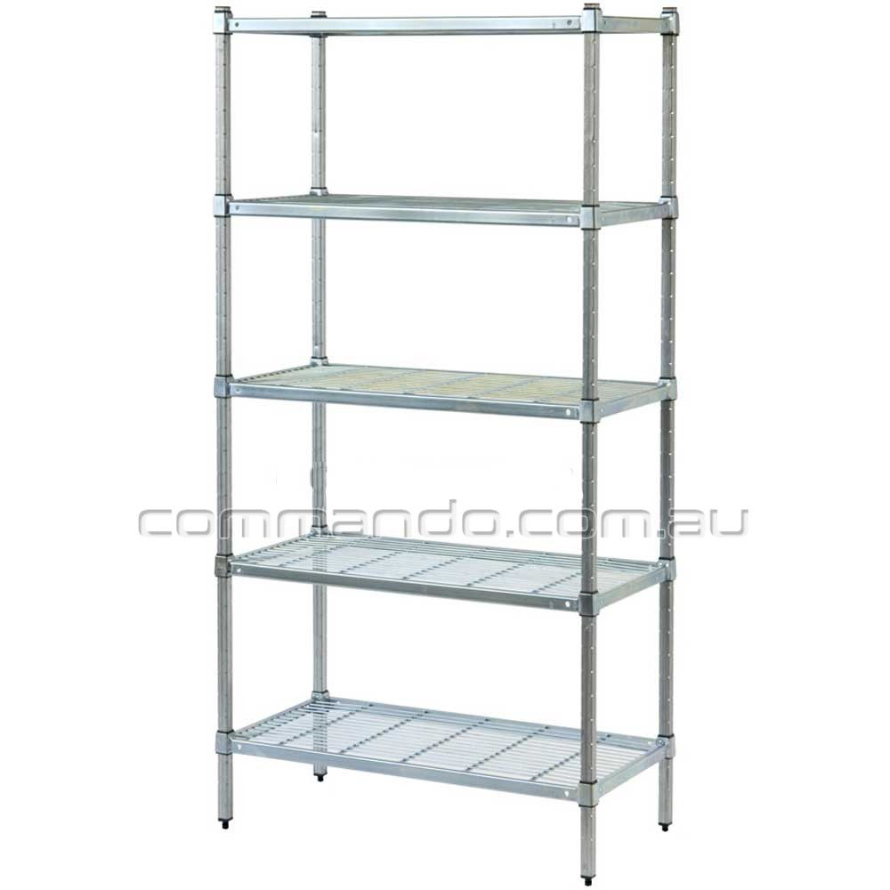 Wire Shelving Commando Storage Systems