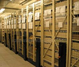 Bespoke high density mobile shelving