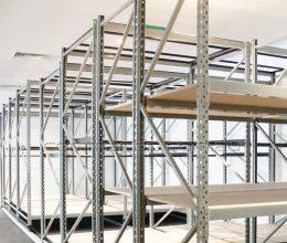 Longspan mobile shelving system