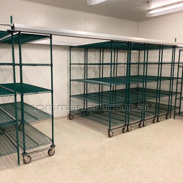 Ez-Glide Top Track Mobile Shelving Compactus System